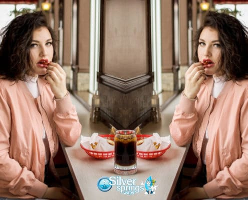 prevent overeating by drinking water
