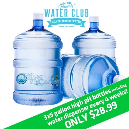 5 Gallon High pH Water