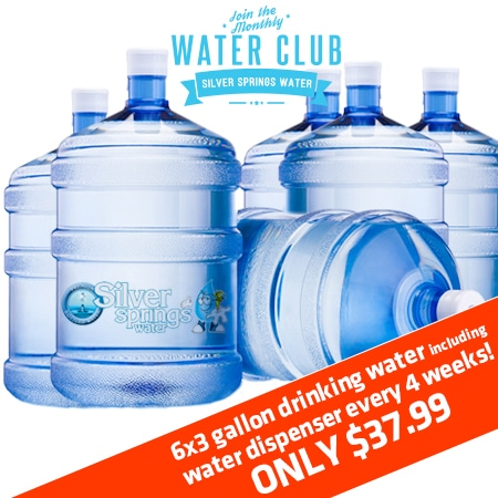 3 gallon drinking water