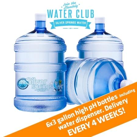 6x3 high ph water
