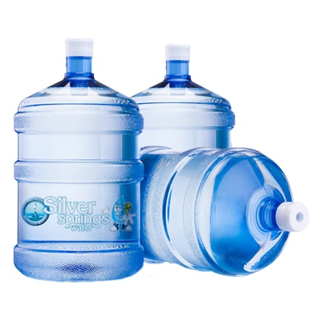 Up To 6 Bottles Of 3 Gallon Drinking Water Including
