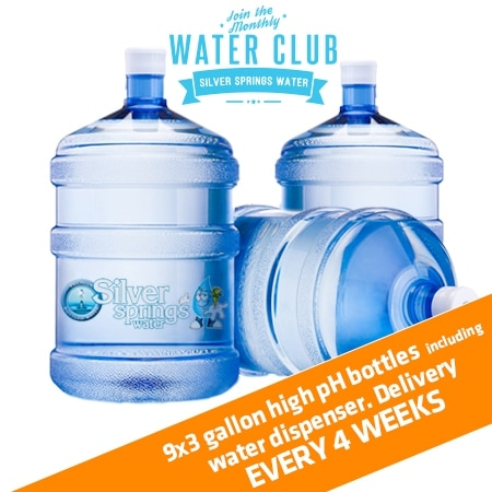 9x3 high ph water